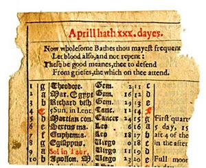 Almanac Page