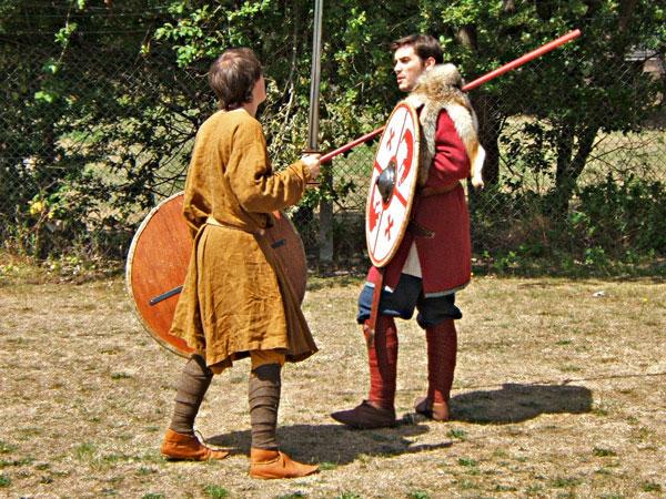 Anglo-Saxon Re-enactors
